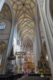 Καθεδρικός ναός του εσωτερικού του ST Elizabeth σε Kosice, Σλοβακία στοκ εικόνες με δικαίωμα ελεύθερης χρήσης