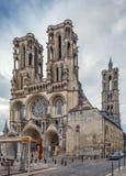 Καθεδρικός ναός του Λάον, Γαλλία Στοκ Εικόνες