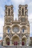Καθεδρικός ναός του Λάον, Γαλλία Στοκ εικόνα με δικαίωμα ελεύθερης χρήσης