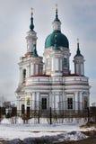 Καθεδρικός ναός του μεγάλου μάρτυρα Catherine Kingisepp Η Ορθόδοξη Εκκλησία στη Ρωσία Στοκ Εικόνες
