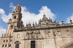 Καθεδρικός ναός του Σαντιάγο de Compostela Στοκ εικόνα με δικαίωμα ελεύθερης χρήσης