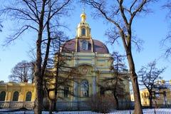 Καθεδρικός ναός του φρουρίου του Peter και του Paul Στοκ εικόνες με δικαίωμα ελεύθερης χρήσης