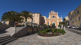 Καθεδρικός ναός του Ajaccio, Ajaccio, Κορσική, Corse-du-sud, νότια Κορσική, Γαλλία, Ευρώπη Στοκ φωτογραφία με δικαίωμα ελεύθερης χρήσης