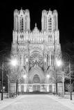 Καθεδρικός ναός του Reims Στοκ Φωτογραφία