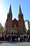 Καθεδρικός ναός του ST Ignatius, Σαγκάη Στοκ φωτογραφία με δικαίωμα ελεύθερης χρήσης