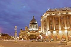 Καθεδρικός ναός του ST Isaac, Αγία Πετρούπολη, Ρωσία Στοκ εικόνα με δικαίωμα ελεύθερης χρήσης