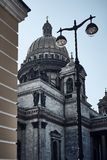 Καθεδρικός ναός του ST Isaac r r άποψη από τη γωνία στοκ εικόνα με δικαίωμα ελεύθερης χρήσης