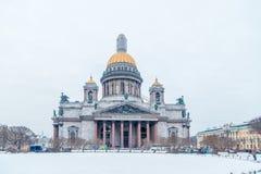 Καθεδρικός ναός του ST Isaac ` s στη Αγία Πετρούπολη Στοκ Εικόνα