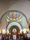 Καθεδρικός ναός του ST Mina στην Αίγυπτο Στοκ Φωτογραφία