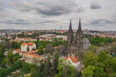 Καθεδρικός ναός του ST Peter και Paul, Vysehrad, Πράγα στοκ εικόνες