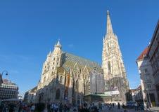 Καθεδρικός ναός του ST Stephen ` s, Βιέννη, Αυστρία Στοκ Φωτογραφίες