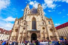 Καθεδρικός ναός του ST stephens, Βιέννη Στοκ εικόνα με δικαίωμα ελεύθερης χρήσης