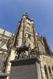 Καθεδρικός ναός του ST Vitus στην Πράγα Στοκ φωτογραφία με δικαίωμα ελεύθερης χρήσης
