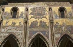 Καθεδρικός ναός του ST Vitus στην Πράγα Στοκ Εικόνα