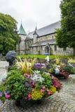 Καθεδρικός ναός του Stavanger στη Νορβηγία Στοκ φωτογραφίες με δικαίωμα ελεύθερης χρήσης