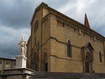 Καθεδρικός ναός των Αγίων Peter στο Αρέζο Ιταλία Στοκ Φωτογραφίες