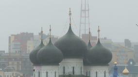 Καθεδρικός ναός υπόθεσης σε Kirov απόθεμα βίντεο