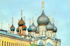 Καθεδρικός ναός υπόθεσης στο Ροστόφ Veliky, Yaroslavl Oblast της Ρωσίας Στοκ Εικόνες