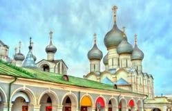 Καθεδρικός ναός υπόθεσης στο Ροστόφ Veliky, Yaroslavl Oblast της Ρωσίας Στοκ εικόνα με δικαίωμα ελεύθερης χρήσης