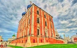 Καθεδρικός ναός υπόθεσης του Ryazan Κρεμλίνο στη Ρωσία Στοκ φωτογραφία με δικαίωμα ελεύθερης χρήσης