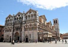 καθεδρικός ναός φερράρα στοκ φωτογραφία με δικαίωμα ελεύθερης χρήσης