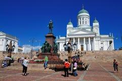 καθεδρικός ναός Φινλανδία Ελσίνκι Στοκ Φωτογραφίες