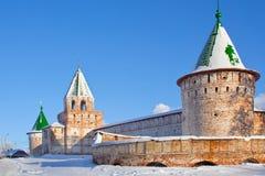 Καθεδρικός ναός χριστιανισμού στη Ρωσία, Kostroma πόλη, μοναστήρι Ipatievsky στοκ φωτογραφία με δικαίωμα ελεύθερης χρήσης