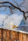 Καθεδρικός ναός χριστιανισμού στη Ρωσία, Kostroma πόλη, μοναστήρι Ipatievsky στοκ εικόνα