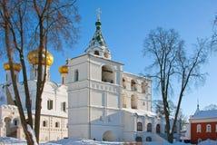 Καθεδρικός ναός χριστιανισμού στη Ρωσία, Kostroma πόλη, μοναστήρι Ipatievsky στοκ φωτογραφία