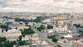 Καθεδρικός ναός Χριστού ο λυτρωτής και η Μόσχα Κρεμλίνο φιλμ μικρού μήκους