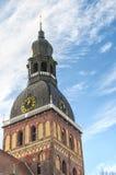Καθεδρικός ναός 01 θόλων της Ρήγας Στοκ Εικόνα