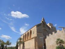 Καθεδρικός ναός Alcudia στοκ εικόνες