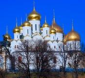 Καθεδρικός ναός Annunciation, Μόσχα Στοκ φωτογραφία με δικαίωμα ελεύθερης χρήσης