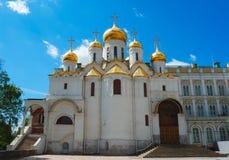 Καθεδρικός ναός Annunciation στο Κρεμλίνο στη Μόσχα Στοκ φωτογραφία με δικαίωμα ελεύθερης χρήσης