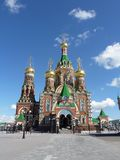 Καθεδρικός ναός Annunciation της ευλογημένης παρθένας Mary Yoshkar-Ola Στοκ εικόνα με δικαίωμα ελεύθερης χρήσης