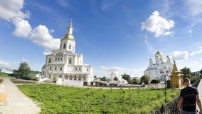 Καθεδρικός ναός Annunciation του ιερού μοναστηριού τριάδα-Αγίου seraphim-Diveyevo Στοκ Εικόνες