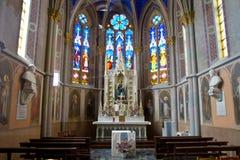 καθεδρικός ναός Aosta Στοκ φωτογραφία με δικαίωμα ελεύθερης χρήσης