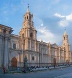 Καθεδρικός ναός Arequipa στο Περού Στοκ Φωτογραφία