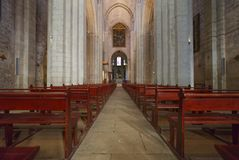 Καθεδρικός ναός Arles - Ã ‰ Άγιος Trophime - Camargue Προβηγκία - η Γαλλία Στοκ φωτογραφία με δικαίωμα ελεύθερης χρήσης
