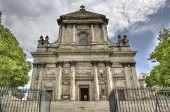 Καθεδρικός ναός Arras, Γαλλία Στοκ φωτογραφία με δικαίωμα ελεύθερης χρήσης