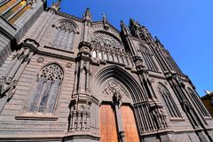 Καθεδρικός ναός Arucas Στοκ εικόνες με δικαίωμα ελεύθερης χρήσης
