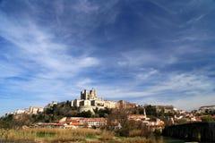 καθεδρικός ναός beziers στοκ εικόνα με δικαίωμα ελεύθερης χρήσης