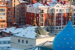 Καθεδρικός ναός Blagoveshchenskiy Kazan Κρεμλίνο Στοκ Εικόνες