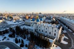 Καθεδρικός ναός Blagoveshchenskiy Kazan Κρεμλίνο Στοκ φωτογραφία με δικαίωμα ελεύθερης χρήσης