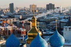 Καθεδρικός ναός Blagoveshchenskiy Kazan Κρεμλίνο Στοκ Φωτογραφία