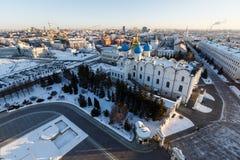 Καθεδρικός ναός Blagoveshchenskiy Kazan Κρεμλίνο Στοκ εικόνα με δικαίωμα ελεύθερης χρήσης