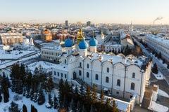 Καθεδρικός ναός Blagoveshchenskiy Kazan Κρεμλίνο Στοκ Εικόνα