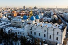 Καθεδρικός ναός Blagoveshchenskiy Kazan Κρεμλίνο Στοκ εικόνες με δικαίωμα ελεύθερης χρήσης