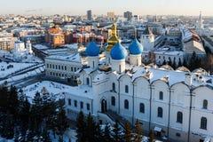 Καθεδρικός ναός Blagoveshchenskiy Kazan Κρεμλίνο Στοκ φωτογραφίες με δικαίωμα ελεύθερης χρήσης