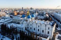Καθεδρικός ναός Blagoveshchenskiy Kazan Κρεμλίνο Στοκ Φωτογραφίες
